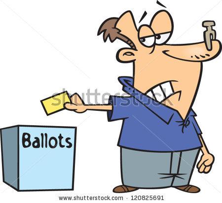 Clothespin vote